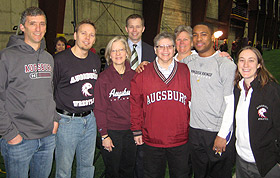 Picture of Auggies and Minn Vikings