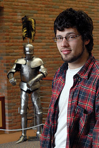 Picture of Josh and armor