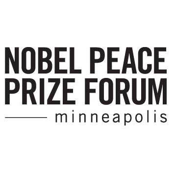 Nobel Peace Prize Forum Minneapolis logo